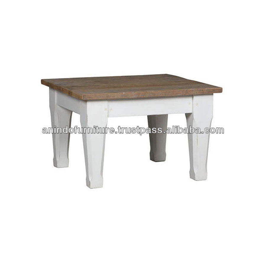 EV Series Low End Table with Chubby Legs