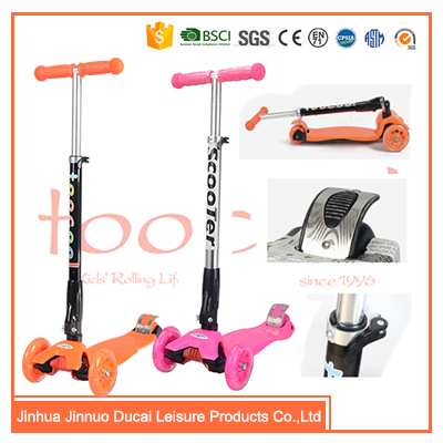 Pro trick 3 wheel kick scooters for kids TK01F