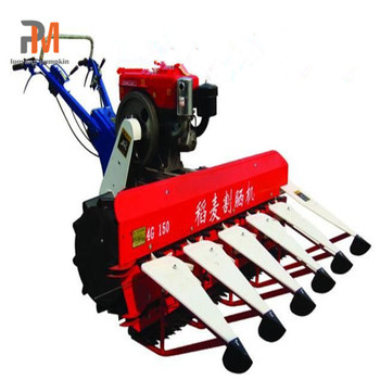 farm machine Mini Combine cutting harvester machines for wheat and rice