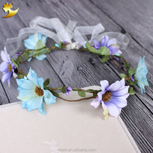 Hot sale hair accessories flower garland decoration 58187
