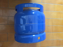 Empty Gas Refillable 6kg LPG Cylinder