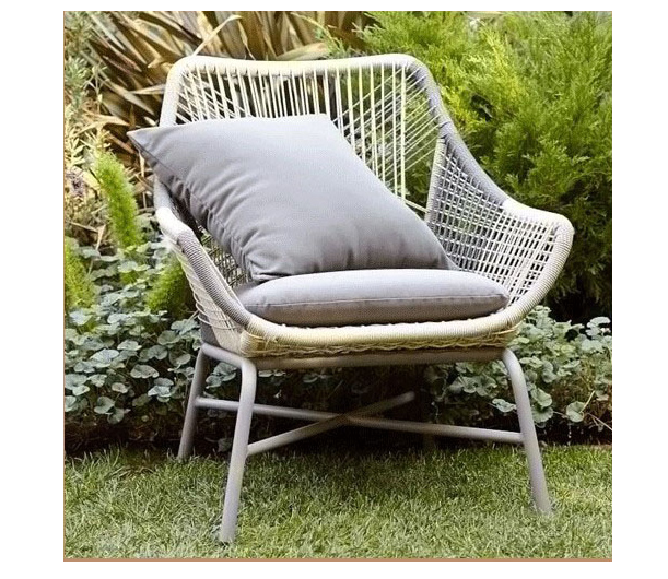 Hot sale high quality outdoor garden furniture single sofa set