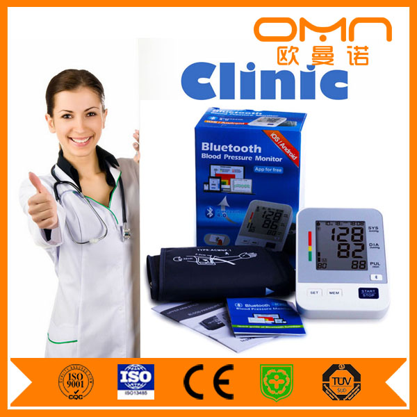 Non Mercurial Sphygomanometer Accoson Doctor Mobile Bluetooth Blood Pressure Monitor BP Holter 24 Hour Body Checking Machine