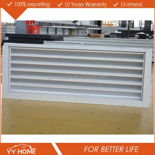 aluminum Shutter louvre windows with fly screen