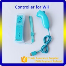 For Nintendo Wii Remote and Nunchuck Controller White and Black Video Game Accessories