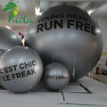 Customized Commercial Display Inflatable Helium Air Silver Helium Ball