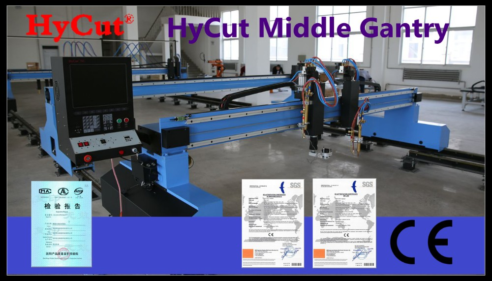 Multi-cutting torch Gantry Flame Plasma Cutting Machine