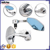 BJ-RM400-02 Manufacture Aluminum Chrome Kawasaki Z800 Side Mirror Motorcycle