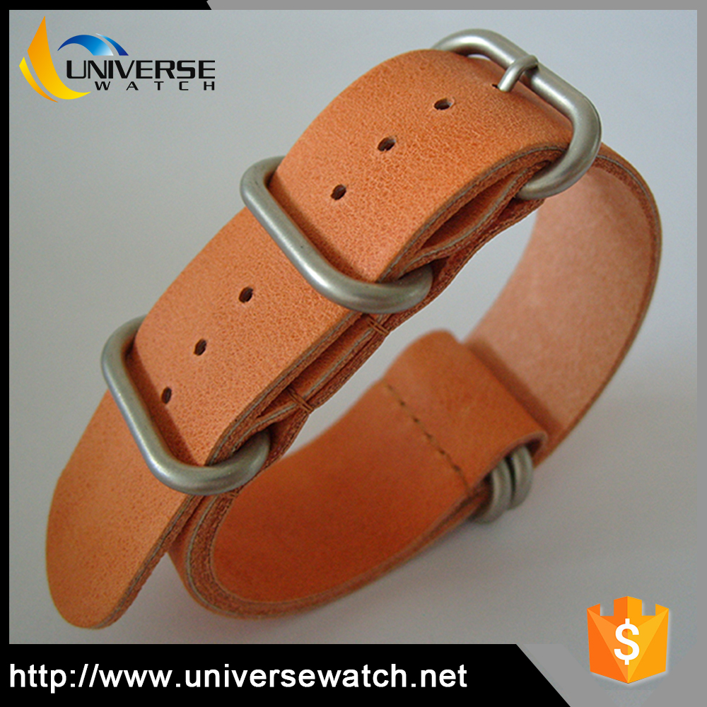 Fashion Simple Nice Design Watch Bands Leather Nato Watch Strap
