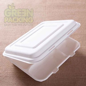bagasse disposable bento lunch boxes buy disposable bento lunch boxes produ. Black Bedroom Furniture Sets. Home Design Ideas
