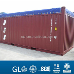 20ft' soft open top and hard open top container