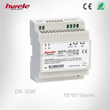 DR-30W Din rail power supply with SGS,CE,ROHS,TUV,KC,CCC certification