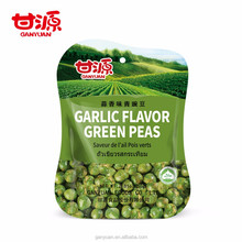 Best selling Chinese snacks garlic flavor green peas