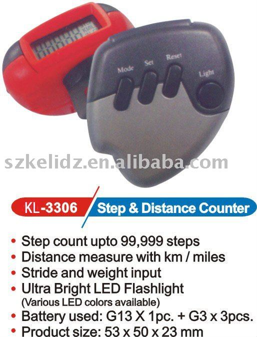 step & distance counter