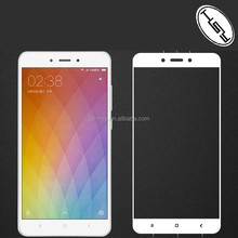 HUYSHE Cell Phone Full Cover Tempered Glass Screen Film Guard for Xiaomi Redmi Note 4 Black White Gold Available