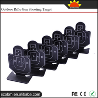 5 Pack/Lot Aluminum Alloy Rectangle Shaped Gun and Rifle Target Shooting Practice Shooting Targets