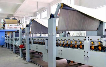 high speed semi automatic corrugated cardboard production line