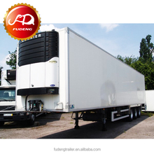 High Quality 30 Tons Small Refrigerated Trailer, Freezer Cargo Van For Sale