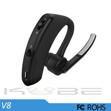 2017 High quality stereo v 4.0 car bluetooth earphone with microphone