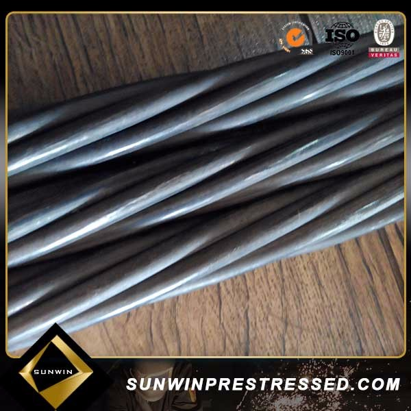 prestressed concrete pc steel strand with 7 wire
