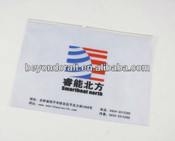 GOOD Price A4 A5 FC clear plastic PVC zipper file bag document envelope