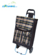 Support foldable big carrefour shopping cart trolley
