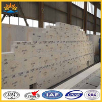 Fused cast azs block TY-33 for furnace sidewall