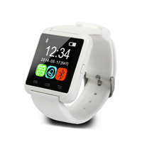 2016 factory price bluetooth Smartwatch U8 U Watch for iPhone 6 / 6 Plus / 5S Samsung S6 / Note 4 HTC Android Phone Smartphones