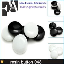 Black Shank Buttons Plastic Decorative Button Negro DIY Sewing Eye For Dolls Toy Eyes Nose Animal 16L 18L 20L 24L