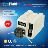 Prefluid BT600L Flow Rate peristaltic Pump,chemical dosing pump working principle