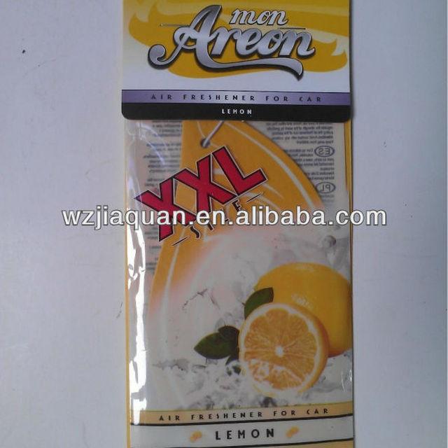 2014 cotton paper fragrance air fresheners, paper cardboard air freshener