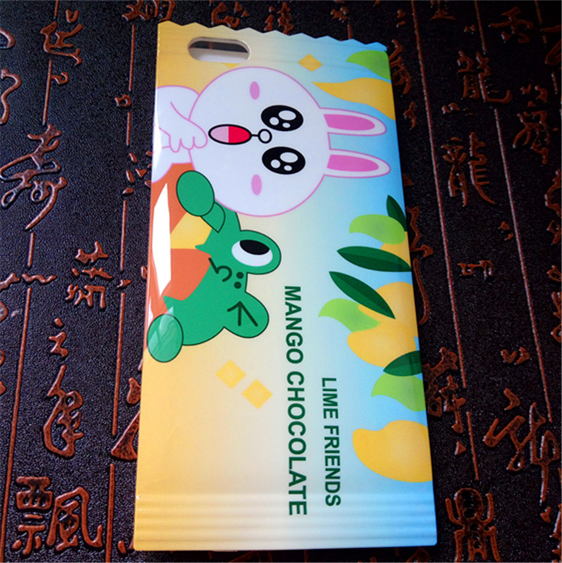Plastic mobile phone cover case soft TPU candy packaging phone case for cell phones from own factory