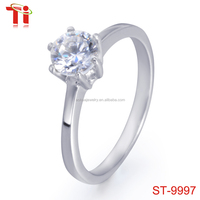 diamond ring king and queen engagement and wedding ring, s925 silver ring diamond