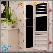 YL3017 Wholesale Wooden Wall Mount / Recessed Jewelry Cabinet with Mirror