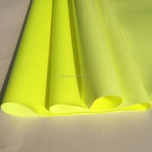 Fluorescent yellow no heavy metal waterproof Hot melt adhesive TPU film for textile fabric