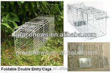 Foldable Live Animal Traps Cage rabbit trap