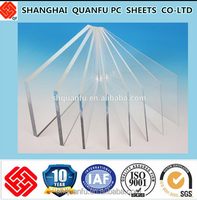 4mm/10mm polycarbonate panel Transparent high impact 10 years warranty