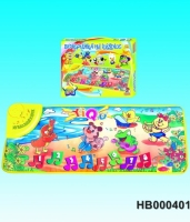 "Learning playmat ""Animal Dance Group ""for children"