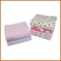 Korean High Quality Plain Super Print Coral Fleece Blanket