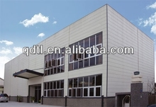 High quality and light steel structure workshop/warehouse/building in India for sale