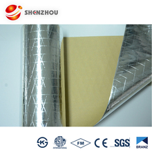 Metalized PET film aluminum foil insulation of woven fabric