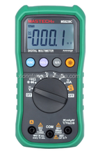 MS8239C Handheld Auto Range Digital Multimeter AC DC Voltage Current Capacitance Resistance Frequency Temperature Tester