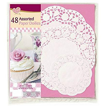All size paper doilies gold coast for card making