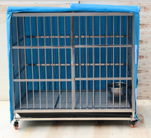 "Sliver large Heavy Duty 66-141""large dog cage crate"