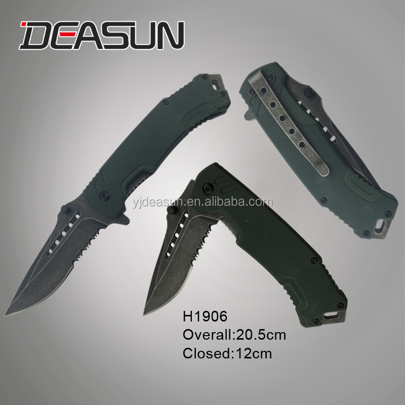 High quality stainless steel Rescue Pocket Knives