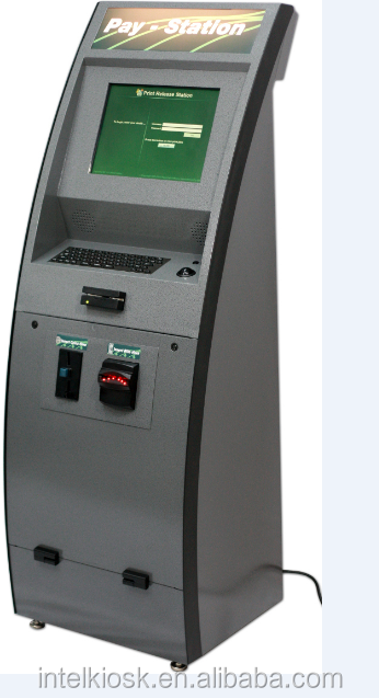 All In One Touch Screen Kiosk Payment Machine