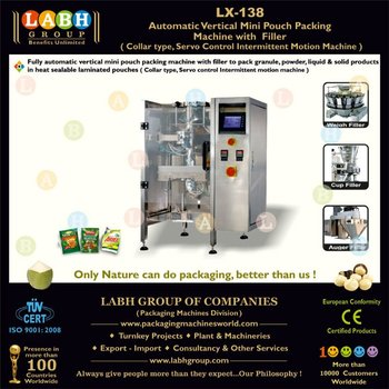 automatic mini sachet packing machine