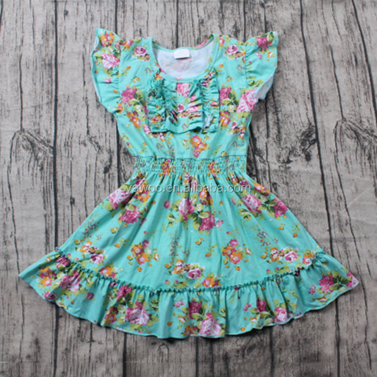 yawoo cute party dresses for girls of 7 years old floral angel dresses for kids cotton children party dresses