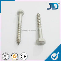 SS304 Made in China Hexagon Head Wood Screws