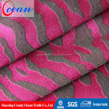 Ocean textile China hot selling sofa furniture fabric for new style jacquard
